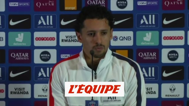 Marquinhos « Les vidéos de la soirée ? C'était une erreur » - Foot - L1 - PSG