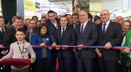 Inauguration du Salon international de l'agriculture 2020