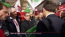 Salon de l'agriculture : Macron cherche à rassurer le monde paysan