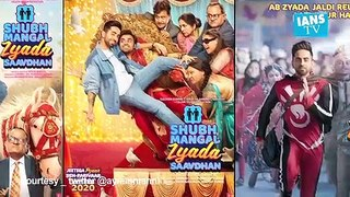 'Shubh Mangal Zyada...' beats 'Bhoot...' at BO on Day 1