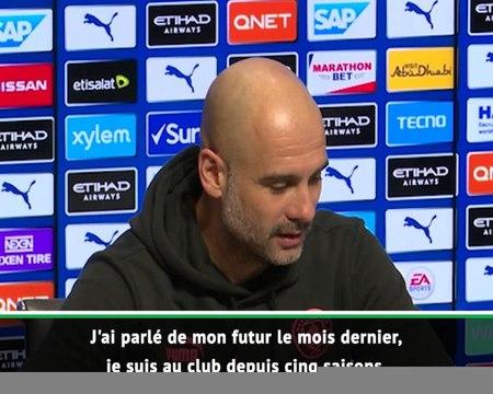Transferts - Guardiola : ''Pourquoi ne pas prolonger ?''
