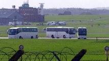 Repatriation plane lands at MOD Boscombe Down