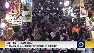 Iran calls FATF's move to blacklist Iran 'ploy' by US, Israel, Saudi Arabia
