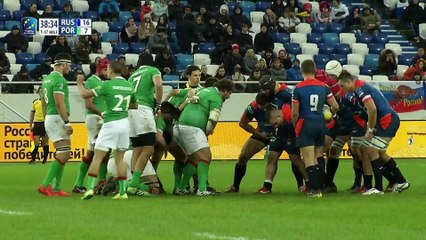 REPLAY RUSSIA / PORTUGAL - RUGBY EUROPE CHAMPIONSHIP 2020