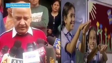 Manish Sisodia on Melania Trump's Delhi schools visit