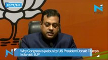 Why Congress is jealous by US President Donald Trump's India visit: BJP