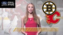 Ford Final Five: B's Comeback Win Against Flames