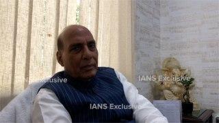Situation improving fast in Kashmir: Rajnath Singh