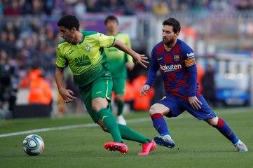 FC Barcelone - Petit pont et coup de rein : Messi s'amuse !