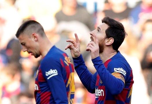 FC Barcelone : Et un coup du chapeau pour Messi à la pause !