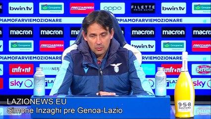 La conferenza stampa di Inzaghi pre Genoa-Lazio