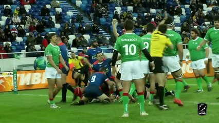 HIGHLIGHTS - RUSSIA / PORTUGAL - RUGBY EUROPE CHAMPIONSHIP 2020 - KALININGRAD
