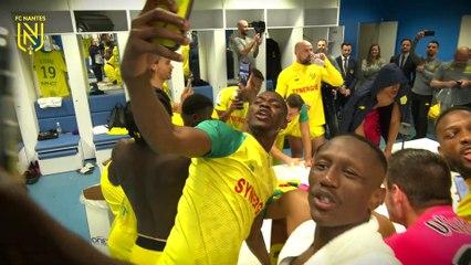 OM - FC Nantes : la joie du vestiaire