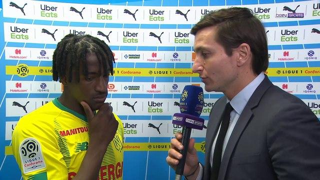 """Nantes - Bamba : """"Un moment particulier pour moi"""""""