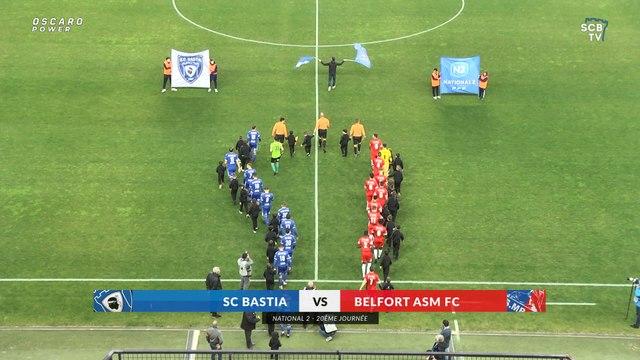 Bastia 2-1 Belfort : Le résumé