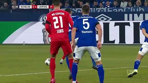 Schalke 04 - RB Leipzig (0-5) - Maç Özeti - Bundesliga 2019/20