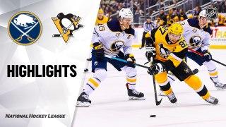 Pittsburgh Penguins vs. Buffalo Sabres - Game Highlights