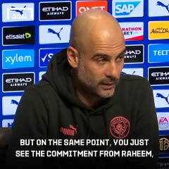 Pep discusses controversial Sterling interview