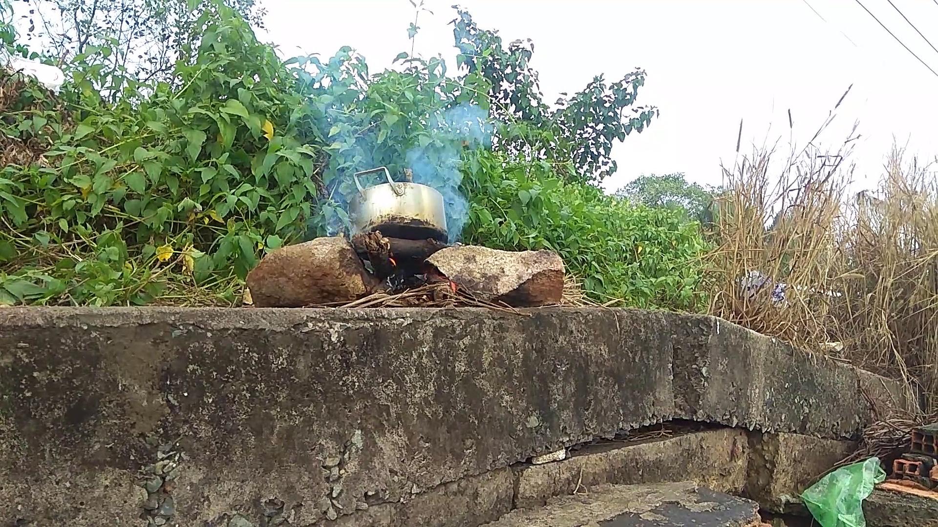 Easy Crispy Pork Belly Cooking | Eating Crispy Pork