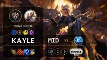 Kayle Mid vs Anivia - EUW Challenger Patch 10.4