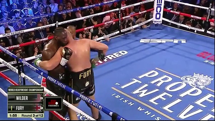 Fury vs Wilder 2 Full Fight