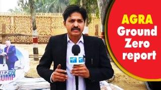 Preparation in Agra on war footing as Trump visit barely 24 hours away