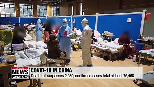 CHINA'S CORONAVIRUS AFFECTING PEOPLE IN PRISON. Young Wuhan doctor dies of Coronavirus death-19;