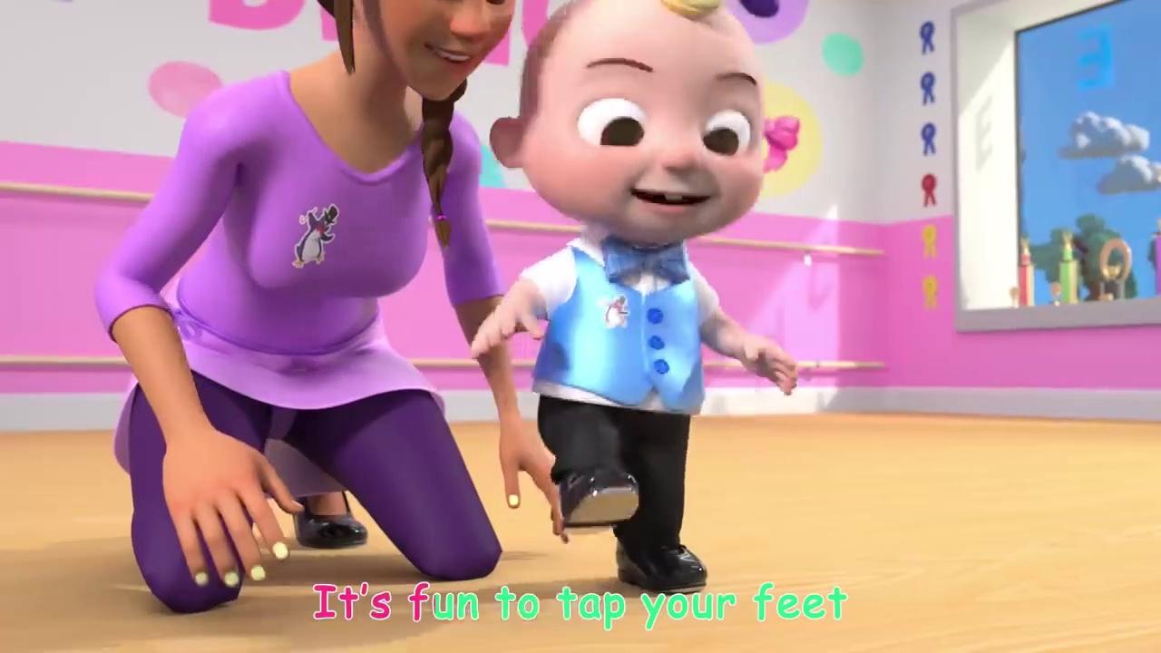 Tap Dancing Song + More Nursery Rhymes & Kids Songs – CoComelon