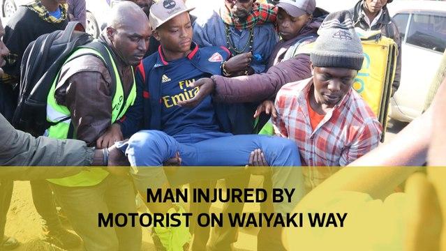 Man injured by motorist on Waiyaki Way
