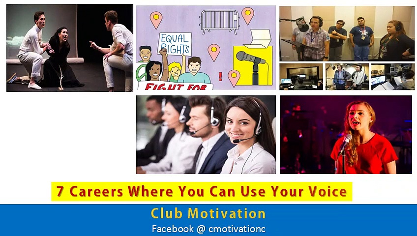 Careers In Voice Over Field | Voice Over Careers | Best Seven Careers for Voice Over Artist | In English  |