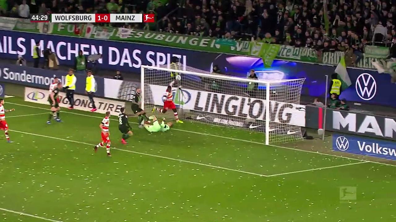 Wolfsburg - Mainz 05 (4-0) - Maç Özeti - Bundesliga 2019/2