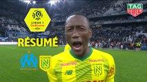 Olympique de Marseille - FC Nantes (1-3)  - Résumé - (OM-FCN) / 2019-20