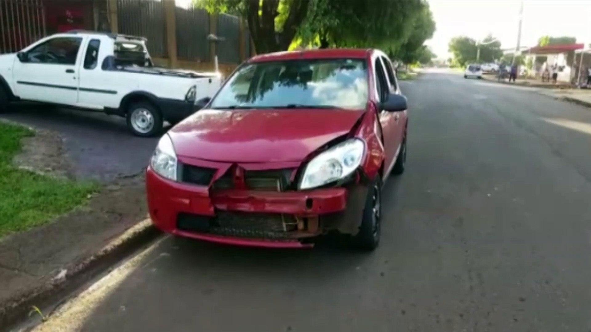 Mulher tem fratura na perna em acidente no Bairro Santa Cruz