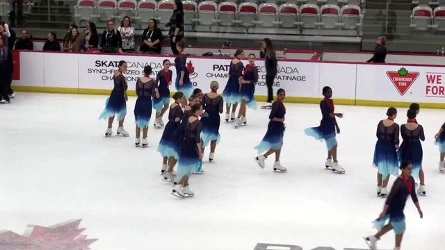Championnats de patinage synchronisé 2020 de Patinage Canada (19)