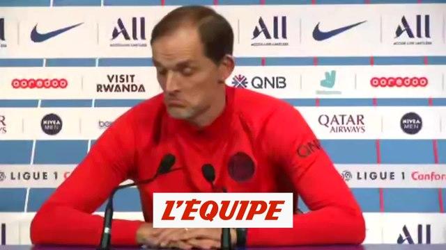 Tuchel sur l'expulsion de Neymar «Je n'ai jamais vu ça» - Foot - L1 - PSG