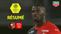 Stade Rennais FC - Nîmes Olympique (2-1)  - Résumé - (SRFC-NIMES) / 2019-20
