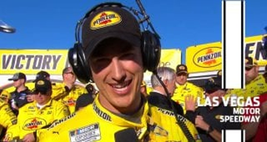 Logano after defending win at Las Vegas: 'I needed clean air'
