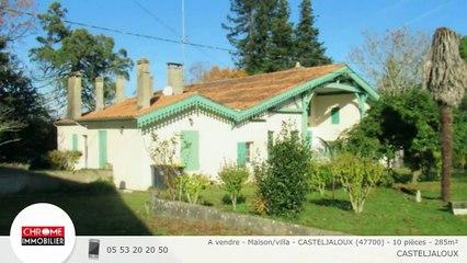A vendre - Maison/villa - CASTELJALOUX (47700) - 10 pièces - 285m²