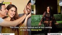 Atrangi Re: Sara Ali Khan-Akshay Kumar's Age Gap Irks Sona Mohapatra, Asks 'Why Priyanka Chopra- Nick Jonas Were Trolled?'