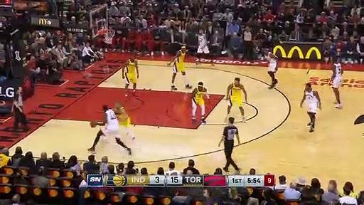 Indiana Pacers 81 - 127 Toronto Raptors