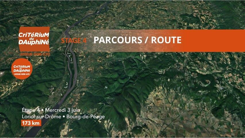 Parcours /Route - Étape 4/Stage 4 : Critérium du Dauphiné 2020