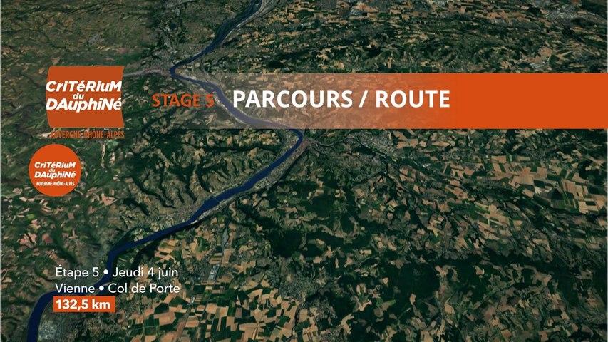 Parcours /Route - Étape 5/Stage 5 : Critérium du Dauphiné 2020