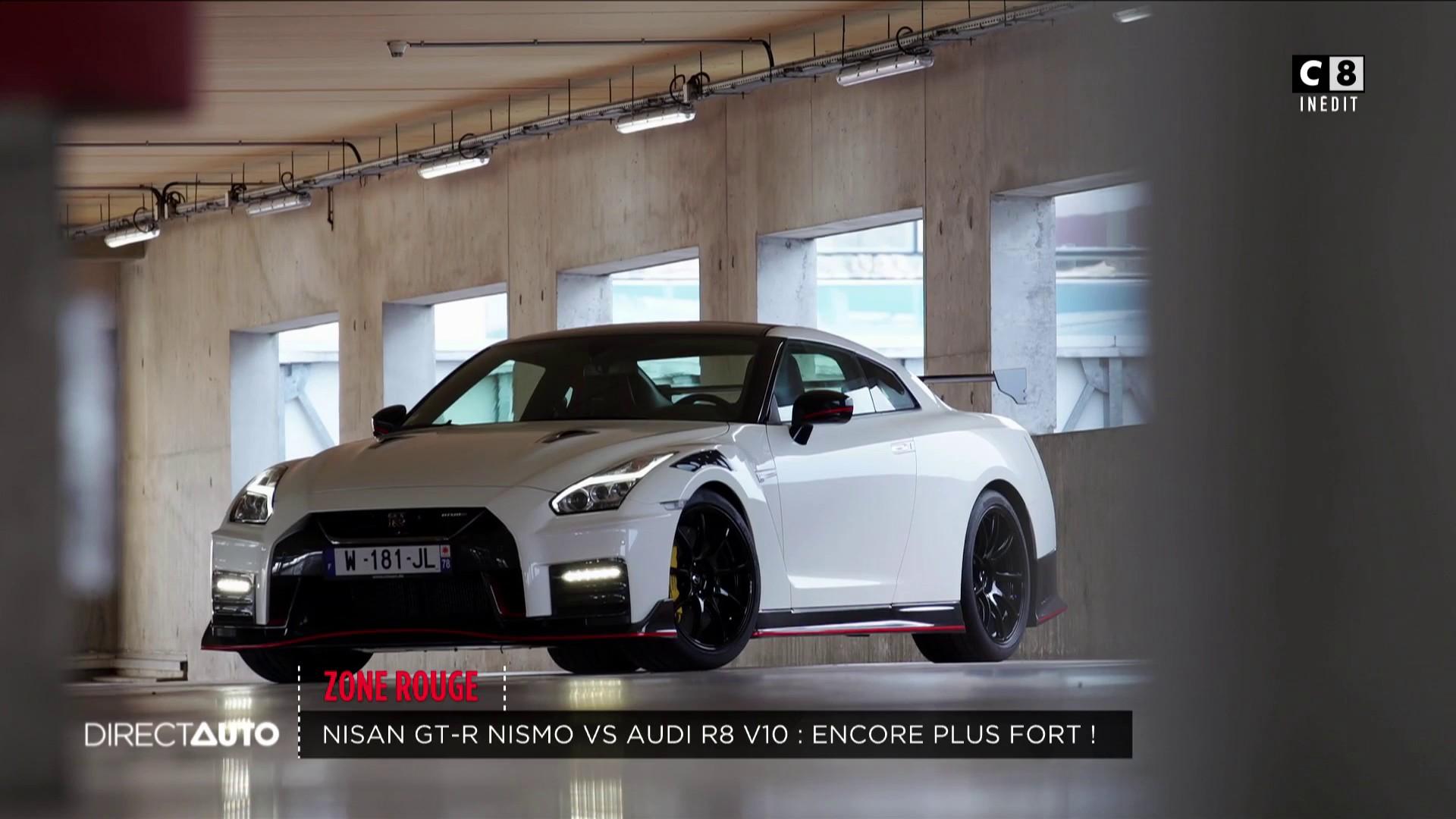 Nissan GT-R Nismo 2020 vs Audi R8 V10 : encore plus fort !