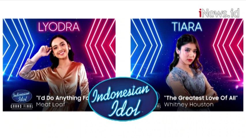 Video Lyodra Ginting dan Tiara Anugrah Akan Bersaing di Grand Final Indonesian Idol X