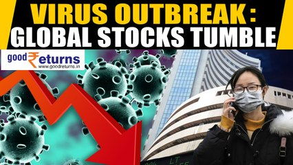 South Korea, Italy sound Coronavirus alarm, Sensex Sinks 806  Points, Investors Lose Rs 3 lac crores