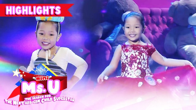 Faith Odevilas emerges as Mini Miss U of the day | It's Showtime Mini Miss U
