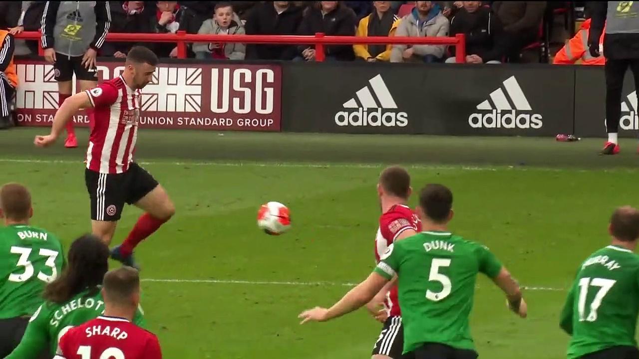 Sheffield United - Brighton (1-1) - Maç Özeti - Premier League 2019/20