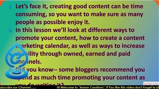 Help your content be seen To others in Digital Marketing |  @Aanav Creations   @Technical Maanav