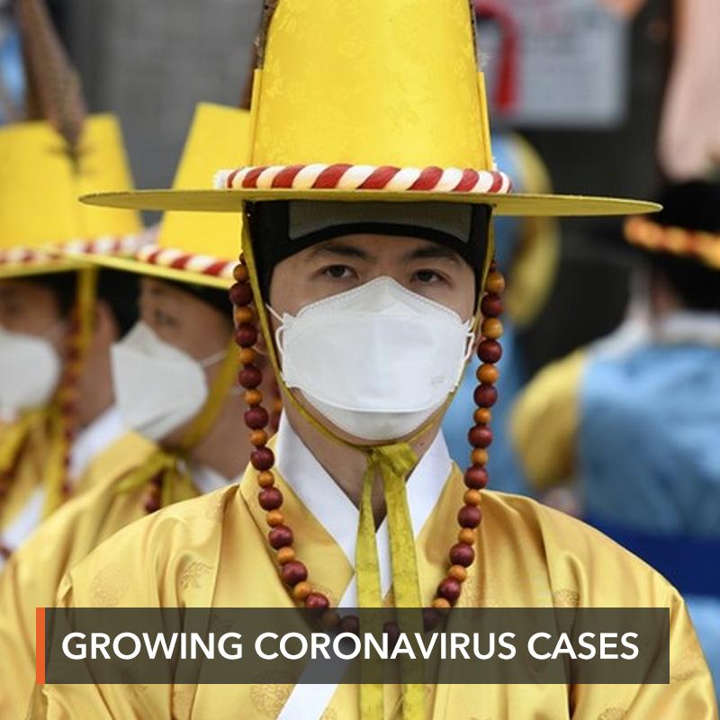 South Korea becomes biggest coronavirus center outside China