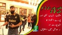 Peshawar Zalmi Team Reached Multan | PSL 5 | Multan Sultans vs Peshwar Zalmi |سید وقار حسین